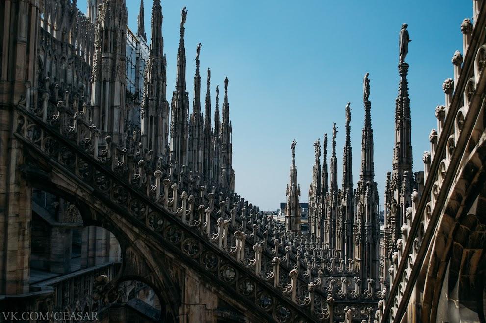 Собор Дуомо в Милане