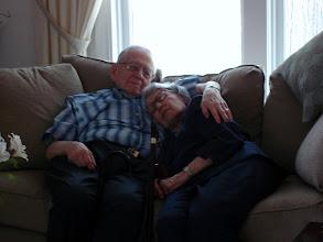 Photo: Harold & Etta (I love this photo, look how cozy they are)