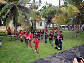 Photo: A Hawaiian welcome