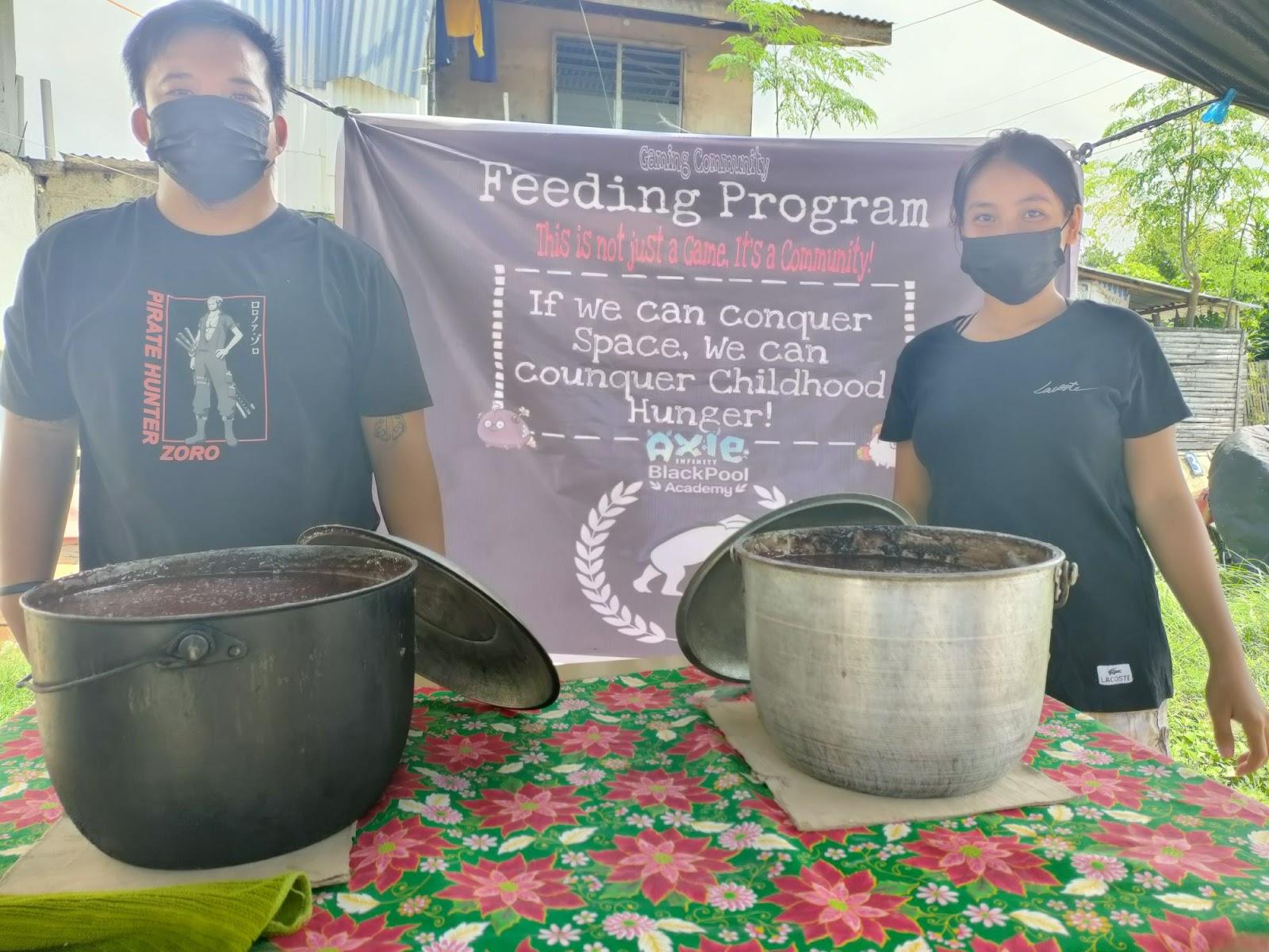 Rolando & Angelica Cantero, Founders of Gaming Community Feeding Program