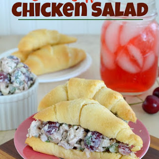 Cherry Walnut Chicken Salad.