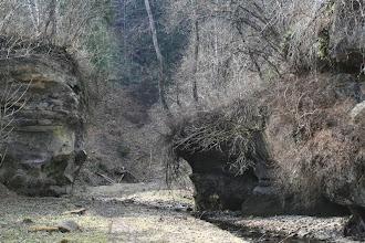 Photo: Річка-дорога на підході  до  скель.