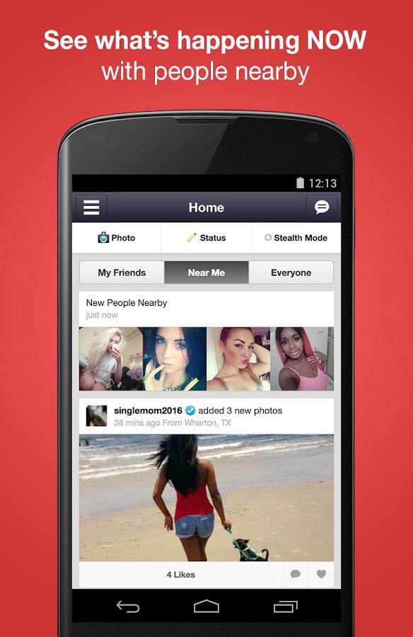 Chat, Meet People - Moco - screenshot