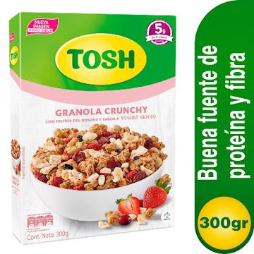 Cereal Granola Tosh   Yogurt Griego X300gr