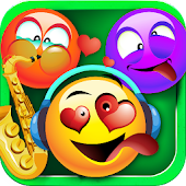 Pop Emoji Music - Match Three
