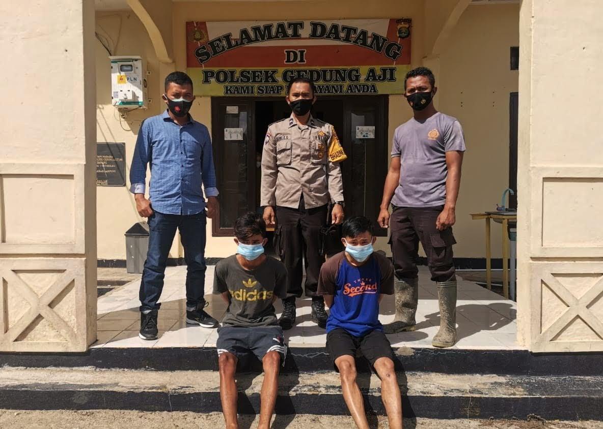Lakukan Curat di Kampung Sendiri, Dua Oknum Nelayan Ditangkap Polisi
