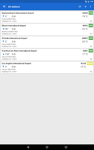 Avia Weather - METAR & TAF 2.11.6 Screenshots 9