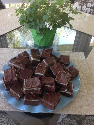 Creme De Menthe Squares Recipe