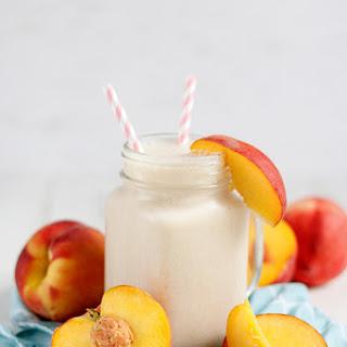 Peach Cobbler Protein Shake Recipe