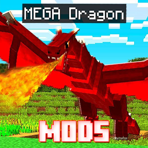Dragon Mod Addons and Mods 1.1 by Omega Mods Studio logo
