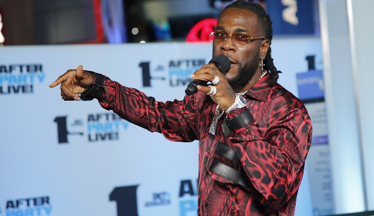 "Nigerian star Burna Boy has hailed his first Grammy win as a ""big moment"" for African music. File photo."