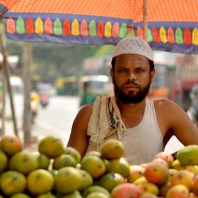 Summer Sale - Mango Shop. by Vinod Rajan - City,  Street & Park  Markets & Shops ( shop, streets, street scene, fruit, fruits and vegetables, people, summer, mango, market, markets, fruits, street, street photography, street scenes,  )