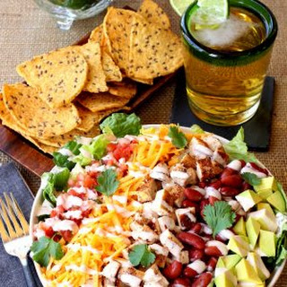 Chopped Chicken Taco Salad.