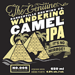 Barkerville Brewing Wandering Camel IPA