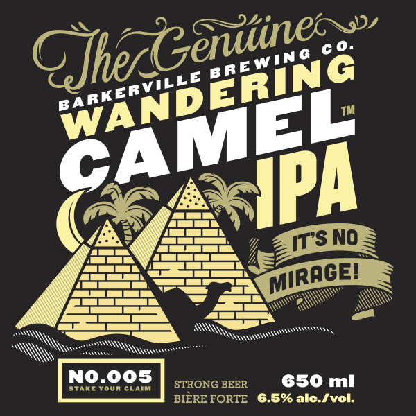 Logo of Barkerville Brewing Wandering Camel IPA