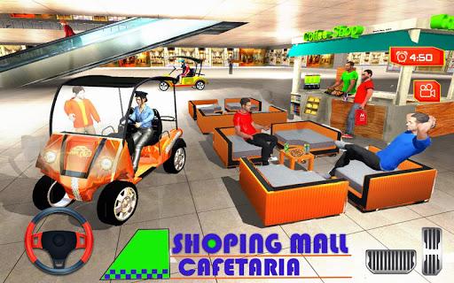 Shopping mall car Taxi driving & Parking 2019 1.2 screenshots 1