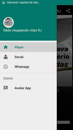 Rádio Resgatando Vidas RJ screenshot 2