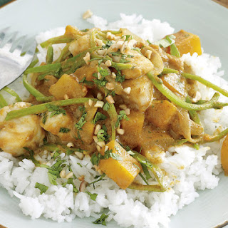 Yellow Fish Curry.