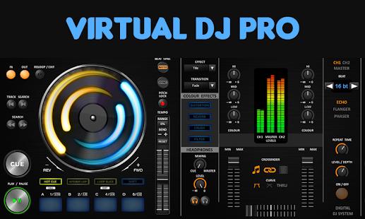 Virtual DJ Pro Mixer - náhled