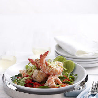 Asian-Style Shrimp and Lobster Salad.