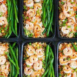 Shrimp Fried Rice Meal Prep Recipe