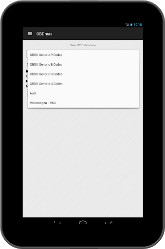 OBD2 scanner & fault codes description: OBDmax  screenshots 15