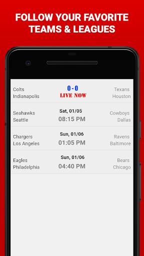 Free Live NFL Streaming 1.0 screenshots 1