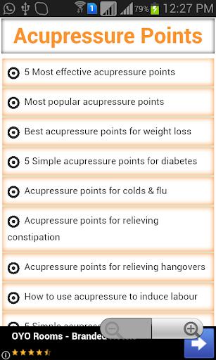 Acupressure Points Guide 1.3 screenshots 1