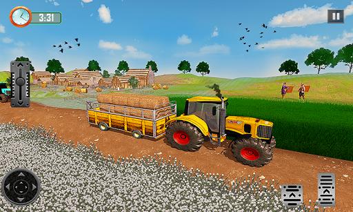 Farming Tractor Driver Simulator : Tractor Games  screenshots 4