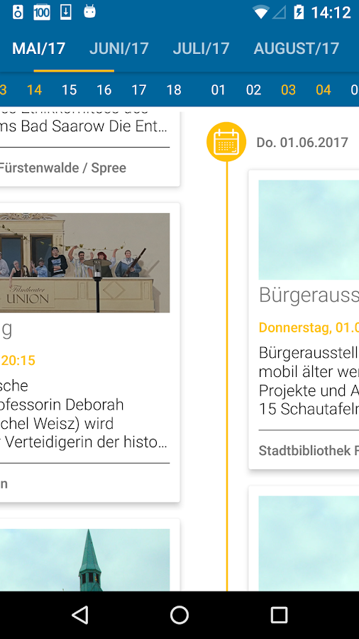 WhatsUp Fürstenwalde- screenshot