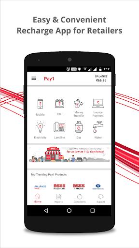 Pay1 Merchant 9.10 screenshots 1