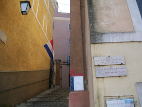 Photo: 35e dag, woensdag 19 augustus 2009 Prima Porta Rome Temp. max.: 38 graden, Wind: - Bft. Windrichting: -. Weerbeeld: zon, warm. Dagafstand 45 Totaal gereden 2293 km . De Friesenkerk in Rome.