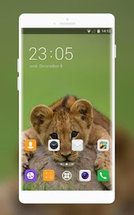 Theme for Lava ARC2 Lion Cubs Wallpaper - náhled