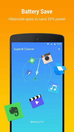 SuperB Cleaner (Boost & Clean) screenshot 3