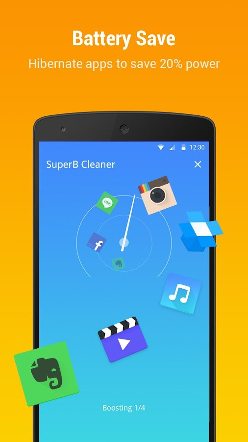 SuperB Cleaner - Boost, Clean & APP LOCK- screenshot
