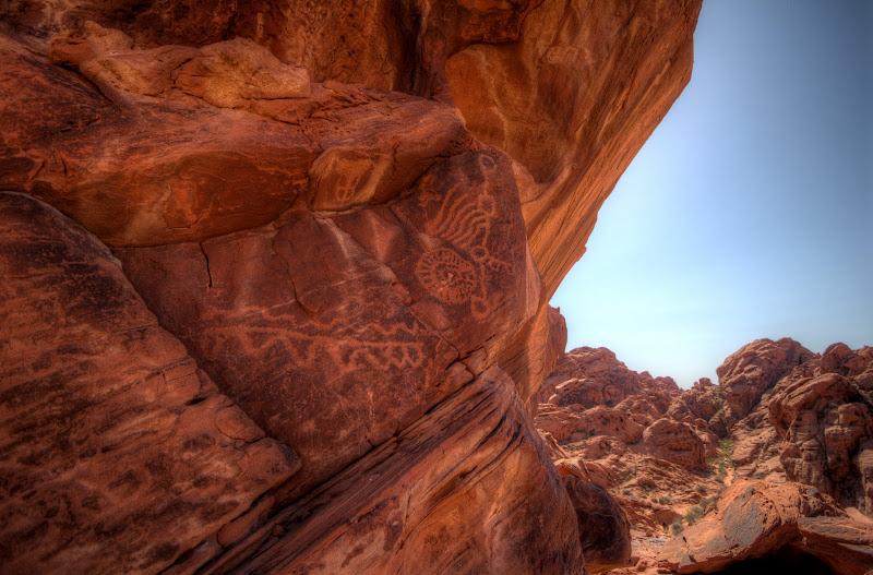 Photo: Petroglyphs, Valley of Fire, Nevada, USA