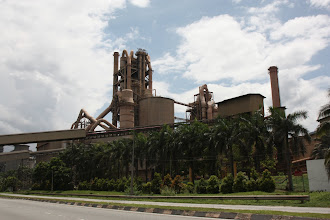 Photo: Year 2 Day 113 - Large Cement Works on the Outskirts of Ipoh #2