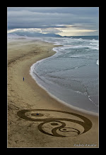 Photo: 'Dynamic Equilibrium', Ocean Beach, SF. Breaking out of the bubble you've been inside and needing to form new balance.