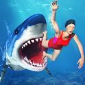 Hungry Shark Attack Simulator icon