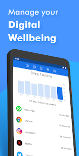 ActionDash: Digital Wellbeing & Smartphonenutzung Screenshot