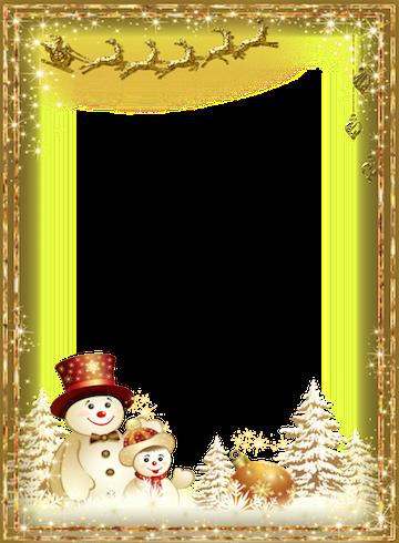 winter photo frames screenshot - Winter Picture Frames