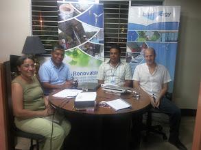 Photo: Reunion con Rafael Escobar, HIDRORED
