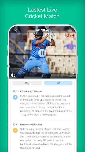 UC Cricket -UC Browser Official Cricket Product screenshot 3