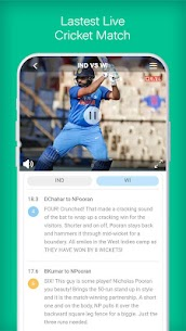 UC Cricket – Live Cricket Score, news & Cricinfo Apk  Download For Android 3