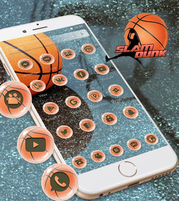 Basketball Theme Dunk - screenshot