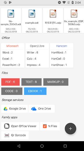 N Docs - Office, Pdf, Text, Markup, Ebook Viewer  screenshots 2