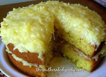 7-Up Cake-The Southern Lady Cooks, A great cake for any occasion.