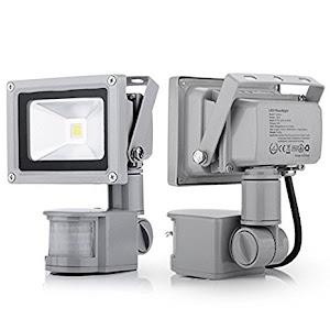 Proiector LED metalic cu senzor de miscare 10 W / 20 W / 30 W / 50 W / 70 W