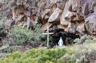 Photo: Hillside grotto near Los Ojos, NM