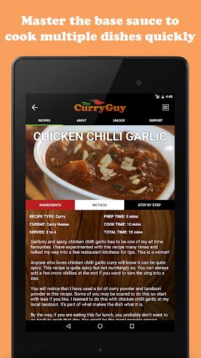 玩免費遊戲APP|下載The Curry Guy - Indian Recipes app不用錢|硬是要APP